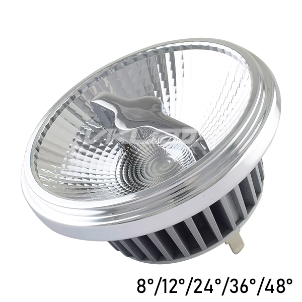 12V AC AR111 Spot lighting Dimmable 12W Narrow Field Angle Bridgelux